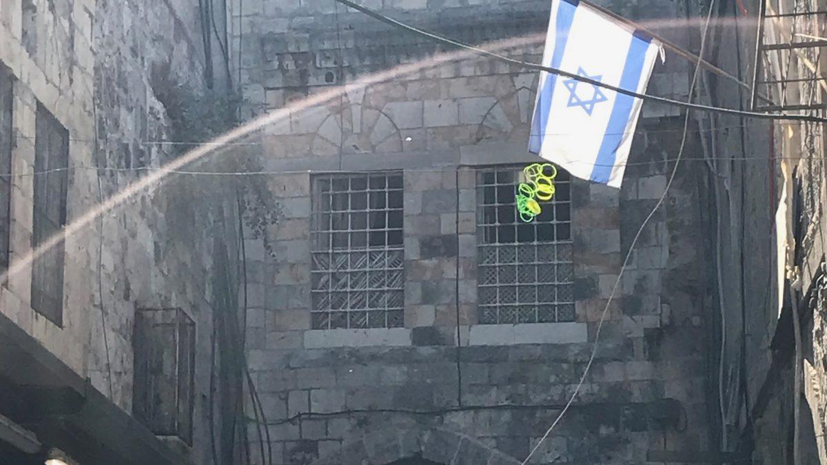 Flagge_Israel_Altstadt Jerusalem