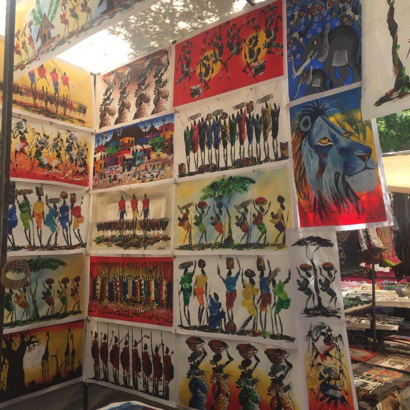 Kunst_Greenmarket Square_Südafrika